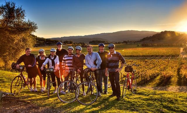 Biking Napa Valley
