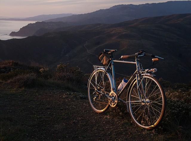 biking marin headlands
