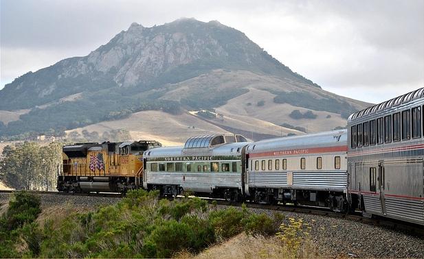 Amtrak and Bishop's Peak