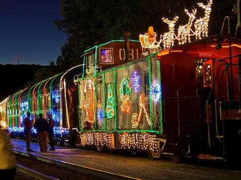 niles canyon railway train of lights
