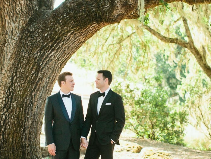 nick and and jason got married at durham ranch