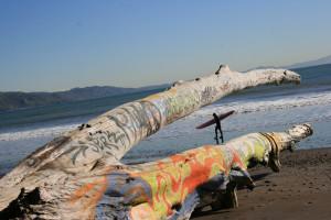Surfing Stinson Beach