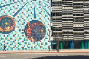 Santa Monica Art and Pedestrian