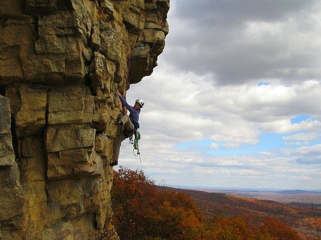 Climbing in the Gunks