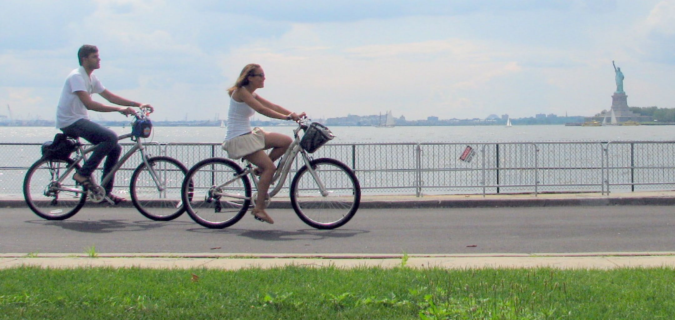 Bike Island governors island