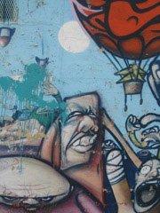 motug ewok mural