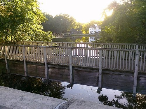 The bridge in Sleepy Hollow