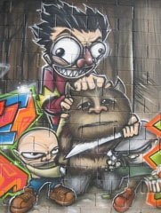 Ewok Graffiti