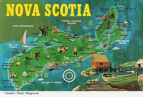 Nova Scotia Postcard 1