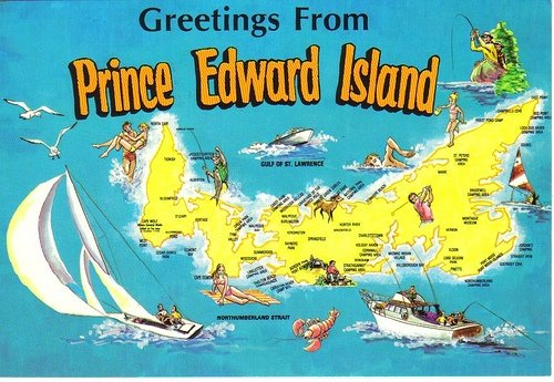 Prince Edward Postcard