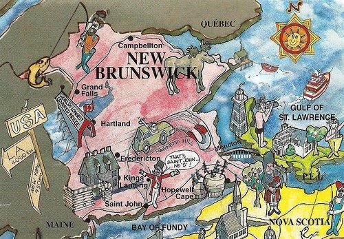 New Brunswick Postcard