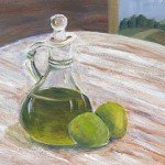 olive oil and lime
