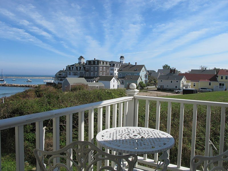 View from avonlea private porch