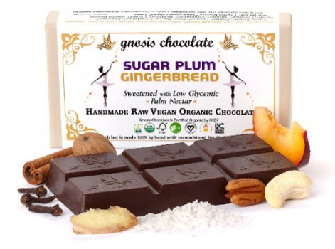 Allison's Pick | SugarPlum Gingerbread Chocolate Bar | The Chocolate Room | Park Slope | $9.25