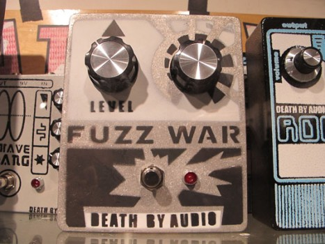 Chris's Pick | Death By Audio's Fuzz War Distortion Pedal | Main Drag Music | Williamsburg | $150