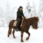 Snow Horseback Ride