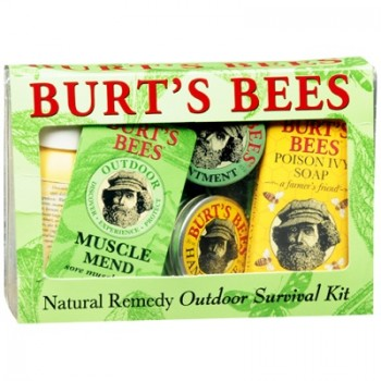 <strong>Burt's Bees Natural Remedy Outdoor Survival Kit</strong> | $8.99