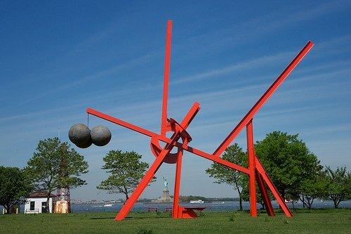Storm King Art Center on Gov Island
