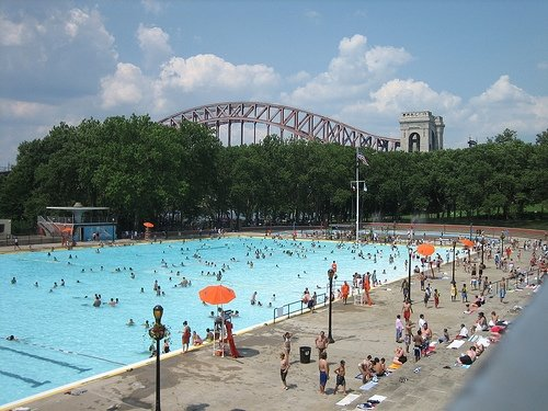 The Best Outdoor Pools In Nyc Offmetro Ny