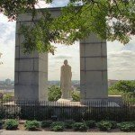College Hill: Prospect Terrace (1867) and Roger Williams Statue (1939)