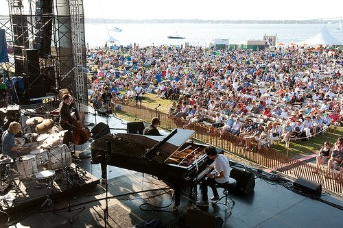 Jamie Cullum at Newport Jazz Festival