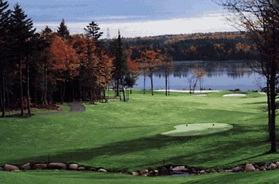 Glen Harbour's hole 8