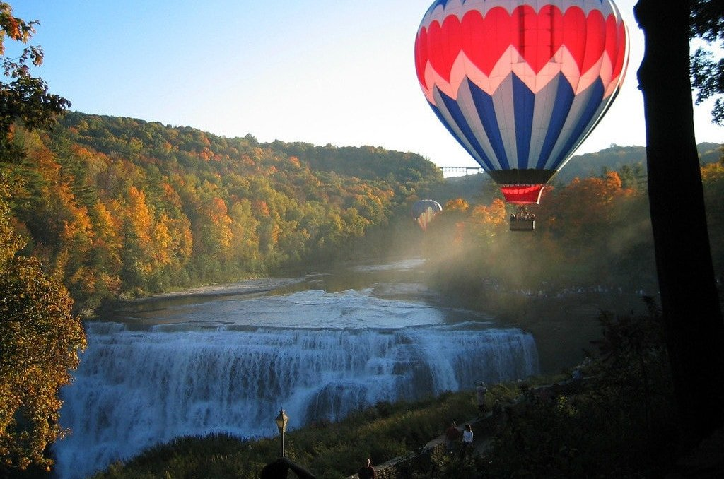 Finger Lakes Air Balloon Ride