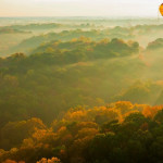 air balloon ride in fall