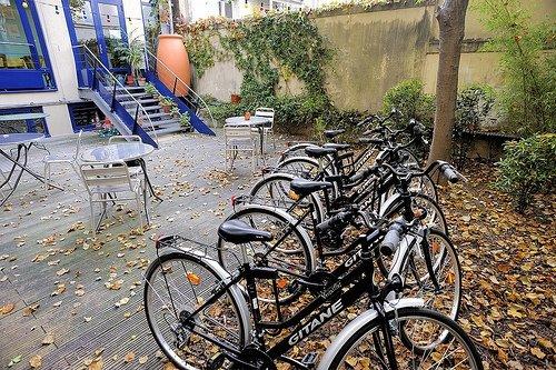 Solar Hotel bikes