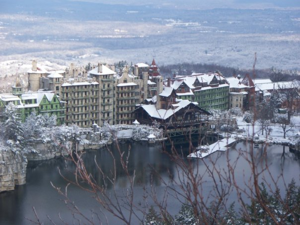 mohonk in winter