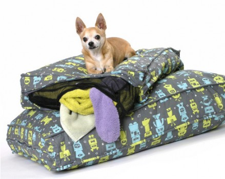 For the Supportive Pet | Dog-o-tron Fill 'Er Up Pet Bed | <a href=