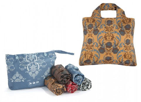 For the Chic Eco Shopper | Envirosax | $8.95/each or $39.95/Rosa Pouch