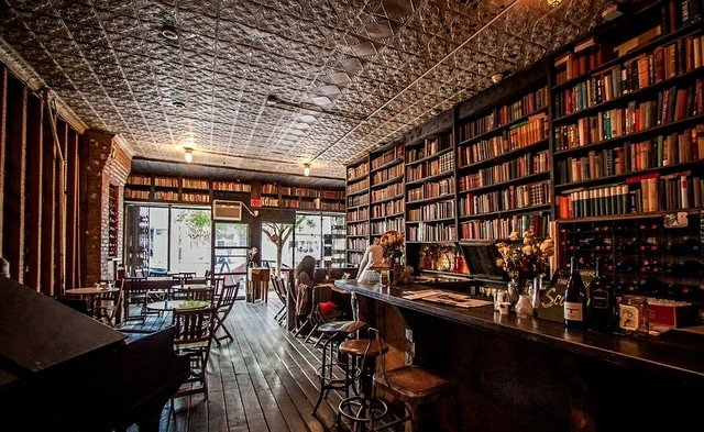 cozy antique french pub places to read in brooklyn offmetro ny