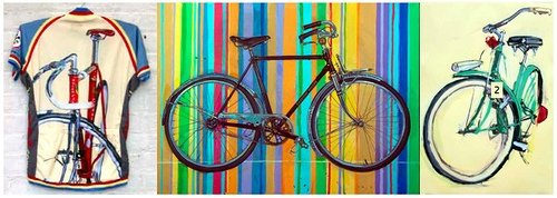 Bicycle Paintings | Prices vary