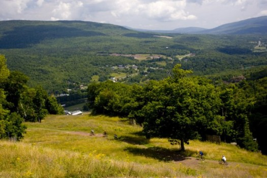 Hiking and Biking at Hunter Mountain in the Catskills