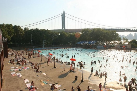 Astoria Park Pool | Queens | N or Q train to Ditmars Blvd.–Astoria Station