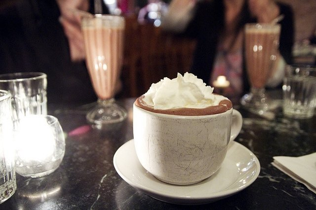 chocolate room's hot cocoa