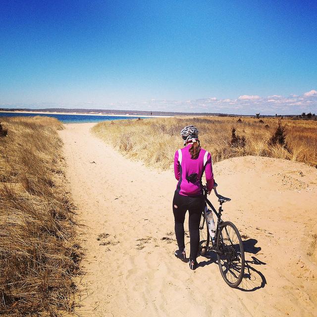 biking long island