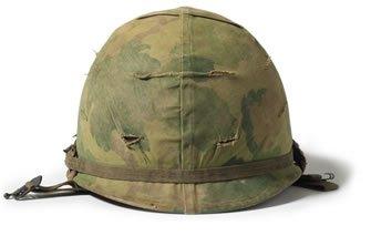 Vietnam War helmet