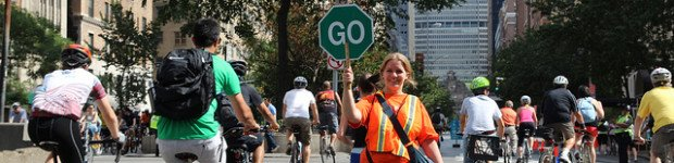 Volunteer at Summer Streets in NYC
