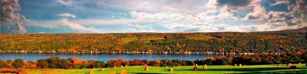 Finger Lakes in Autumn