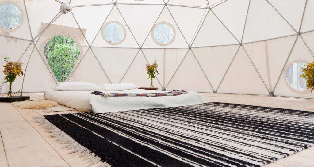 Geodesic dome in Catskills