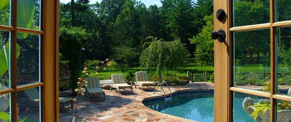 pool at inn at bowman's hill