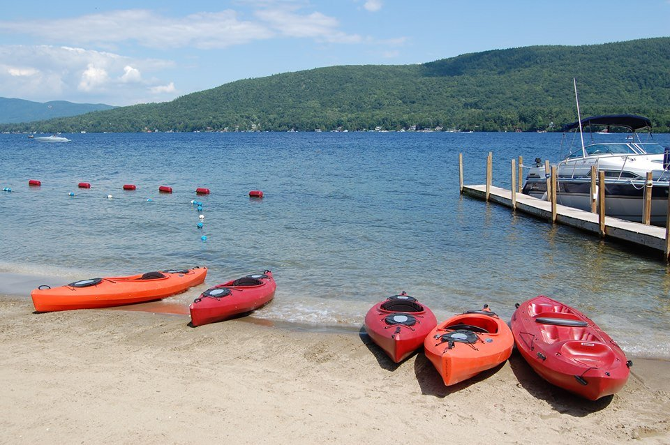 kayaking lake george