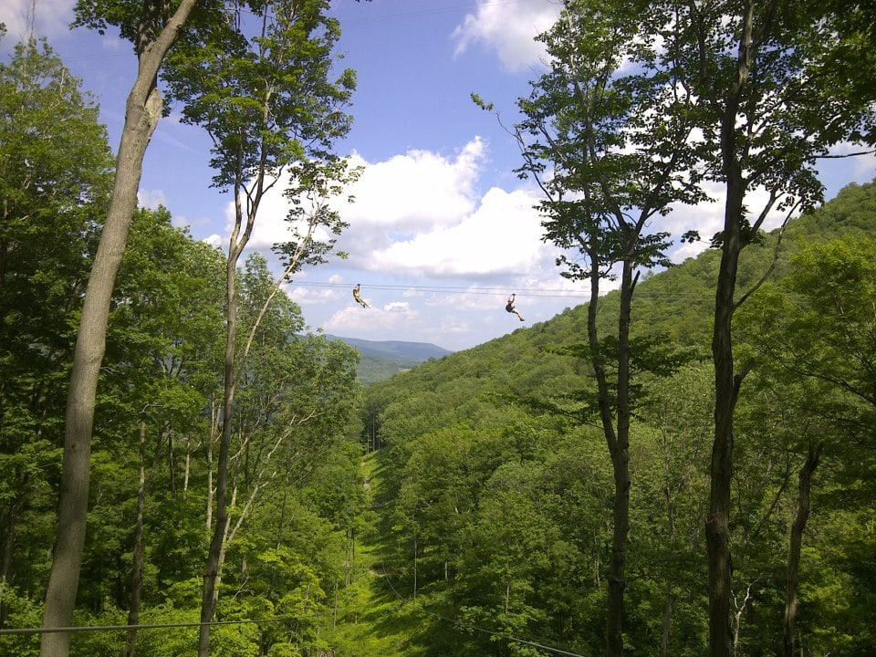 hunter mountain zipline