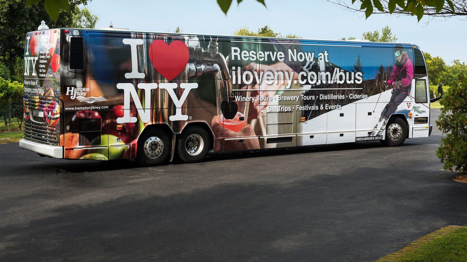 I LOVE NY BUS