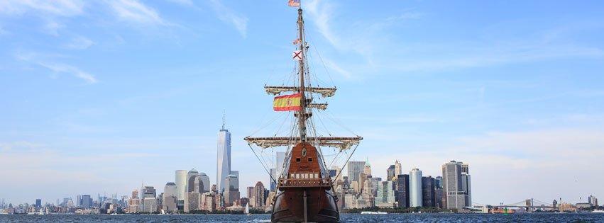 El Galeon tall ship