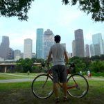 Biking Houston