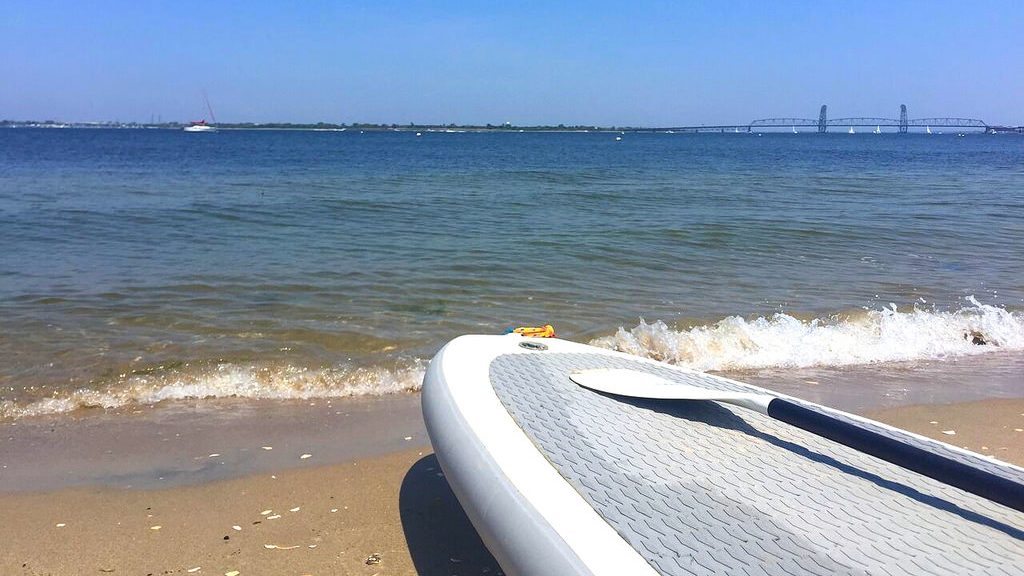 SUP in Jamaica Bay