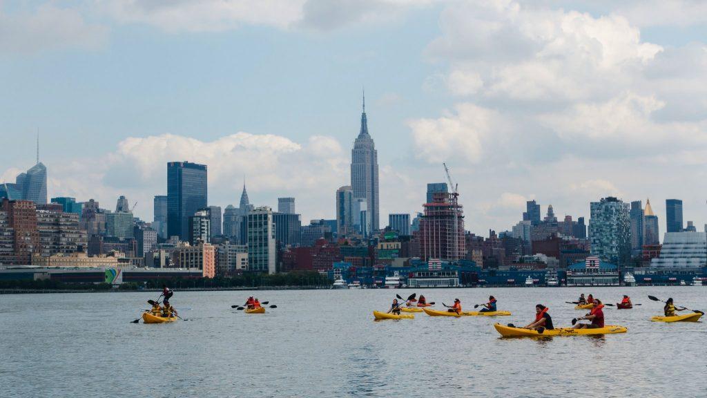 Kayaking the Hudson